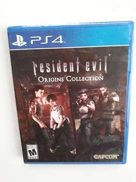 Origins Resident Evil Origins Collection Juego Ps4 Nuevo Y Sellado