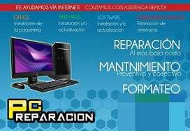 Reparacion y ventas de laptop y cpu