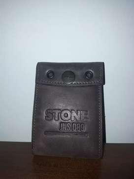 Billetera de Cuero Stone