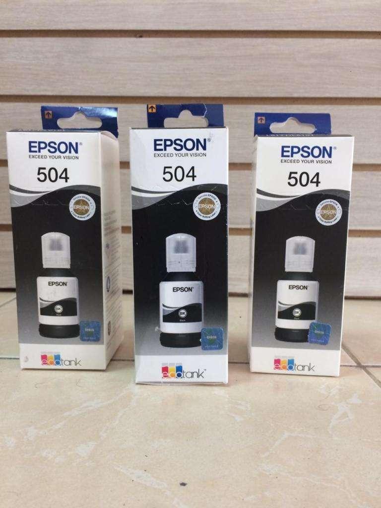 TINTA EPSON 504 (BK) 0