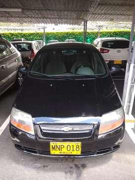Aveo sedan modelo 2007 negro en muy buen estado al dia transito Medellín