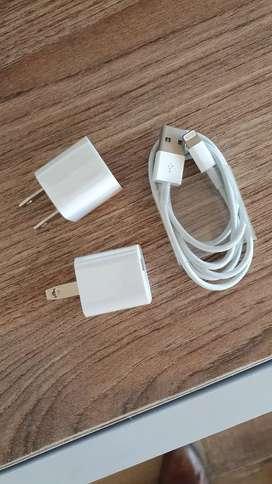 Cable y cargador iphone original