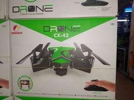 Drone Plegable Con Cámara Wifi Full Hd Cx-42