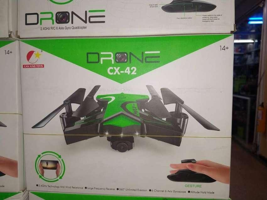 Drone Plegable Con Cámara Wifi Full Hd Cx-42 0