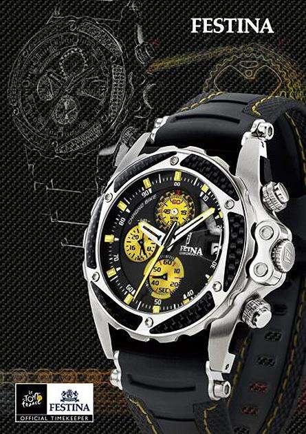Reloj Festina Tour D France F16272 Carbono Kevlar 0