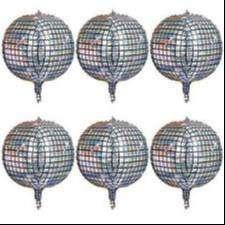 Globos Bola Disco Metalizado 55 Cm