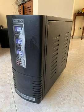 Regulador de Voltaje Trifasico 6 Kva