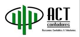 AUXILIAR CONTABLE, ANALISTA CONTABLE, SECRETARIA CONTABLE