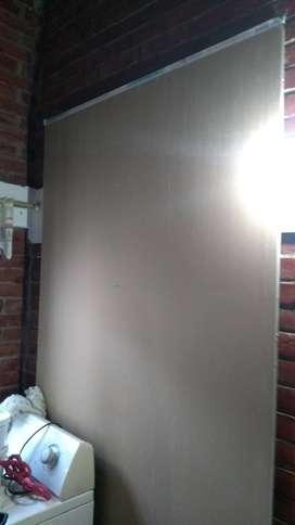 """Lamina de panel yeso de 1/2"""", 1,22 x 2,44 m. Muro y cielo raso."""