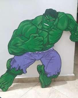 Decoración HULK Avengers