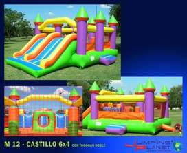ALQUILO INFLABLES,INFLABLE ACUATICO, METEGOL Y PING PONG