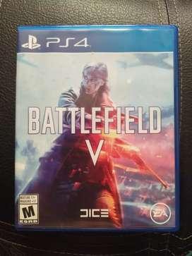 Battlefield 5 para PS4, sin ningún rayón, como nuevo