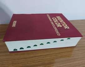 VENDO DICCIONARIO ENCICLOPEDICO MENTOR COLOR DE EDITORIAL OCEANO, EDICION 2001.IMPRESO EN ESPAÑA. CON 1056 PAGINAS.