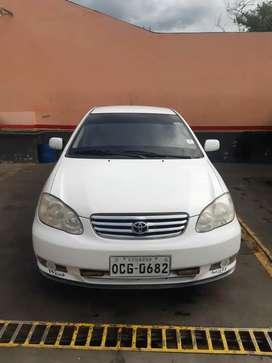 Toyota Corolla 2003 en perfecto estado a toda prueba