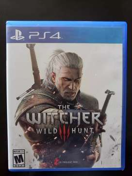 Vendo THE WITCHER WILD HUNT