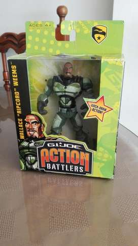 G.I. JOE Action battlers Wallace  coleccionable