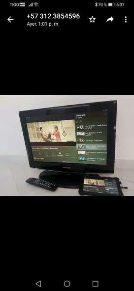 Ganga tv samsung de 24 plg
