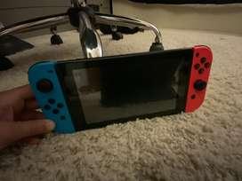 Nintendo switch para video juegos