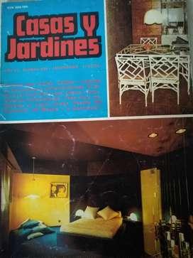 Revista casas y jardines año 49 numero 484  año 1980