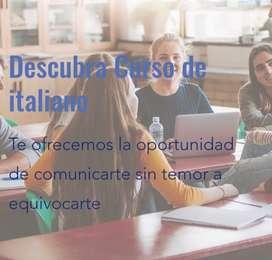 Clases de italiano, curso completo