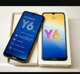 Huawei y6 2019 un mes de uso y tiene un año de garantía (operdor tigo)