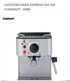 Cafetera gourmet  en acero inoxidabke