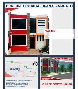 Vendo casa en sector urbano de Ambato - La Victoria