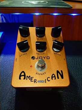Pedal preamplificador joyo American sound