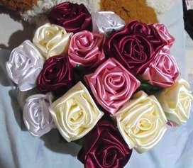 Rosas Artificiales de Tela