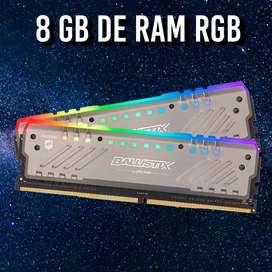 8 GB RAM (3000 Mhz) CRUCIAL BALLISTIX