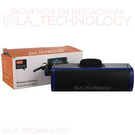 PARLANTE BLUETOOTH KH-J15  USB / TF / FM / AUX / BT