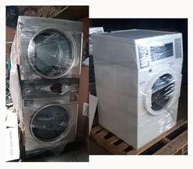 Secadora doble y lavadoras industriales