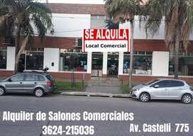 DUEÑO ALQUILA SALONES COMERCIALES Y DEPOSITO.