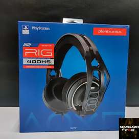Auriculares Headset Plantronics Rig 400 Hs PS4 Xbox one Nintendo switch