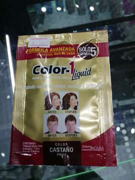 Tinte en shampoo