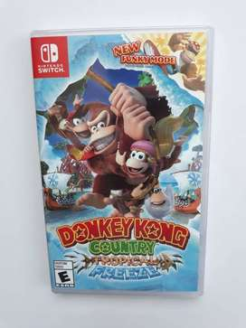 Donkey Kong Country Nintendo Switch Nuevo y Sellado