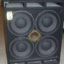 caja de bajo eden 800watts