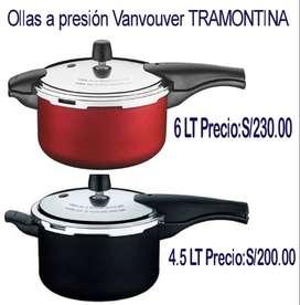 Ollas a Presión Tramontina