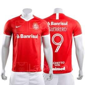 Camiseta Original Internacional Inter Paolo Guerrero Peru futbol brasil brazil