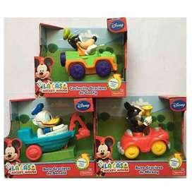 Mckey Mouse Clubhouse Vehículos Graciosos, fraces ,habla, ríe ORIGINAL