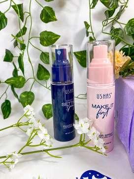 Fijador de maquillaje y primer en spray