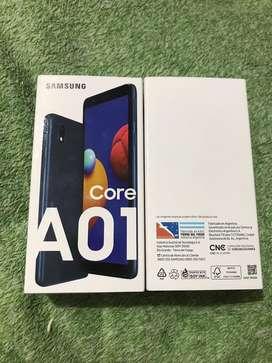 Samsung a01 Core nuevos libres!