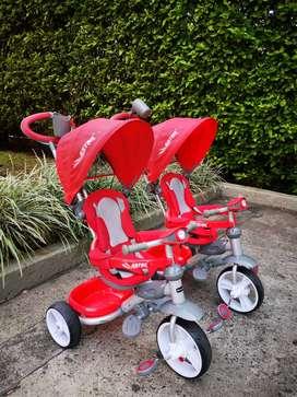 Triciclo prinsel 4 en 1