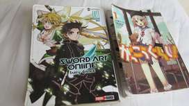 Mangas sword art online fairy dance y School-live!!!