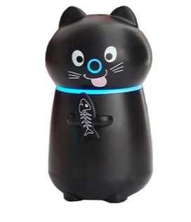 Difusor Aromas Humidificador Led  Gato Filtro