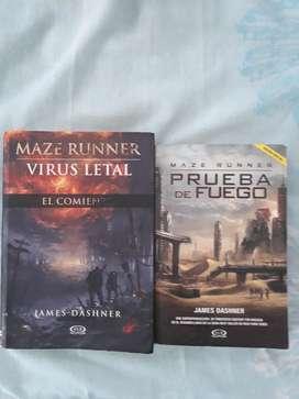 Libros de James Dashner