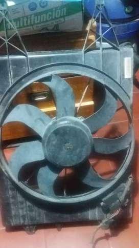 Vendo electro ventilador original de fox 2015  paleta rota
