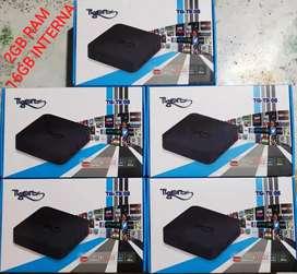 Compra Ya Tu Mini Tv Box 4k 16gb Ram 2gb Quad Core Convierte A Smart Tv