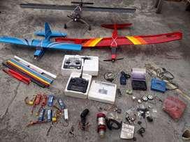 Venta de aviones a escala y accesorios