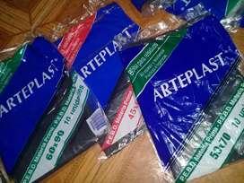 Líquido 40 paquetes de bolsas de residuos